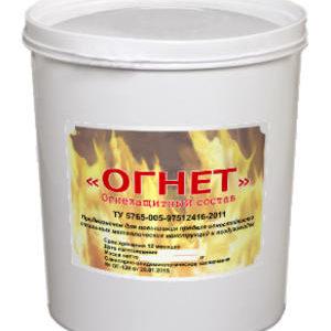 """Огнезащитная мастика """"Огнет"""" 30 кг"""