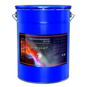 Теплоизоляционный состав «ОГНЕЗА-КТ» 20 кг