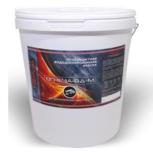 Краска на водной основе «ОГНЕЗА-ВД-М» 25 кг.