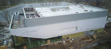 Огнезащита металлоконструкций кинотеатра «МАРС» в Москве