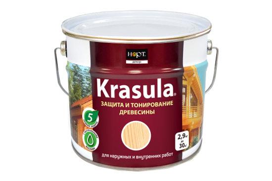 Фото товара Лак Норт Krasula для защиты и тонирования покрытий