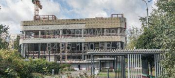 Огнезащита металлоконструкций кинотеатра «РАССВЕТ» в Москве