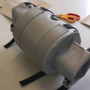 Фото товара Термочехол CaseERA на кран шаровой Ду25