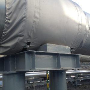 Фото товара Термочехол CaseERA на опору трубопровода Ду800