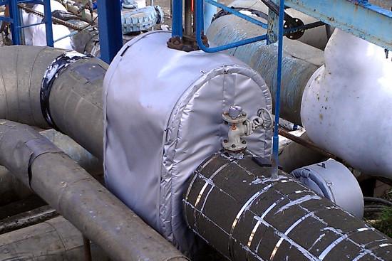 Фото товара Термочехол CaseERA на задвижку клиновую Ду500