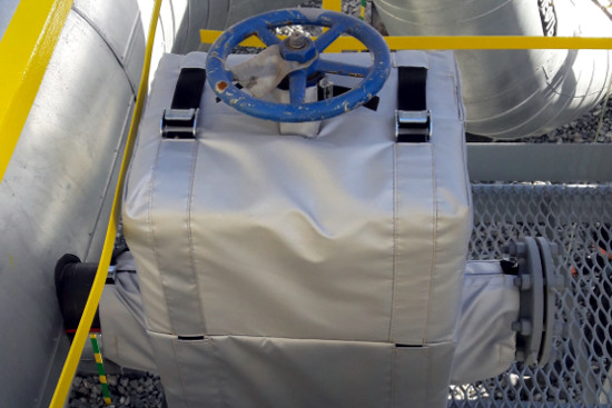 Фото товара Термочехол CaseERA на задвижку клиновую Ду80